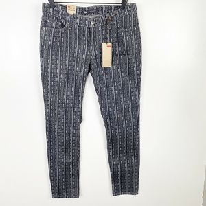 Levi's 524 Skinny Superlow Too Jeans Stretch Twil